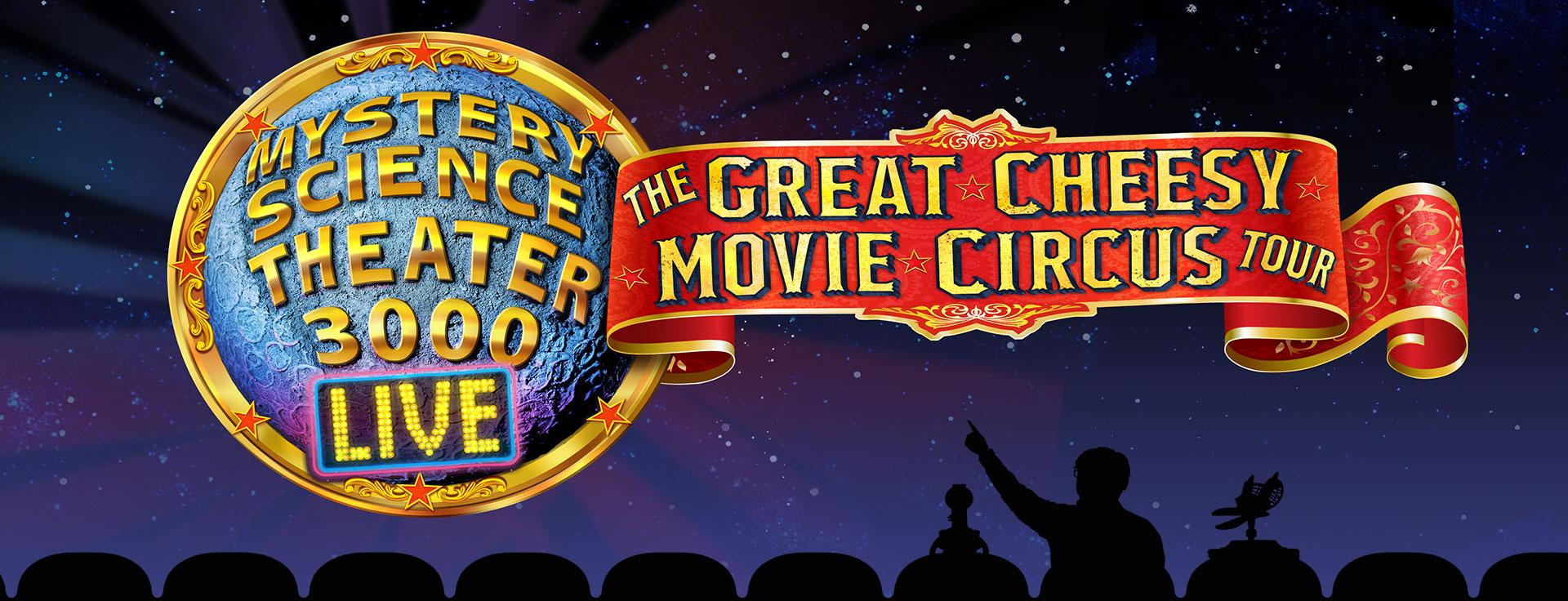 Mystery Science Theater 3000 Live Logo