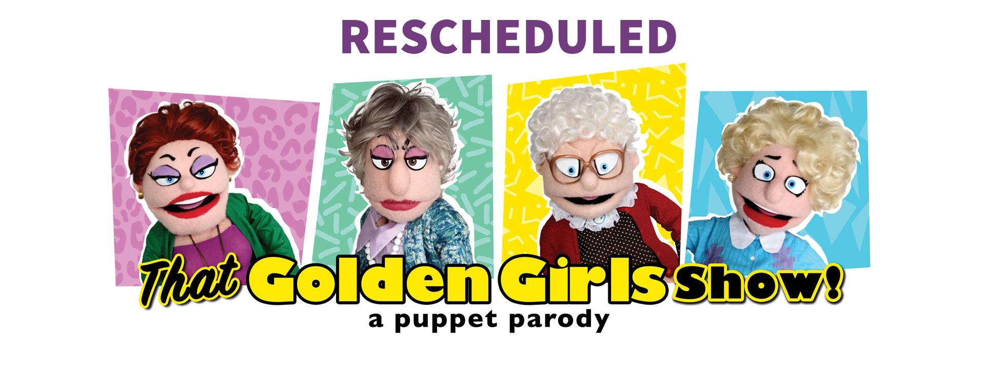 The Golden Girls Puppets and Logo