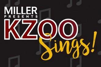 Miller presents Kzoo Sings! logo