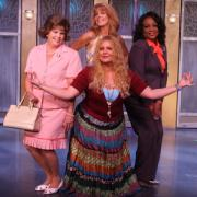 The cast of the Menopause the Musical on stage