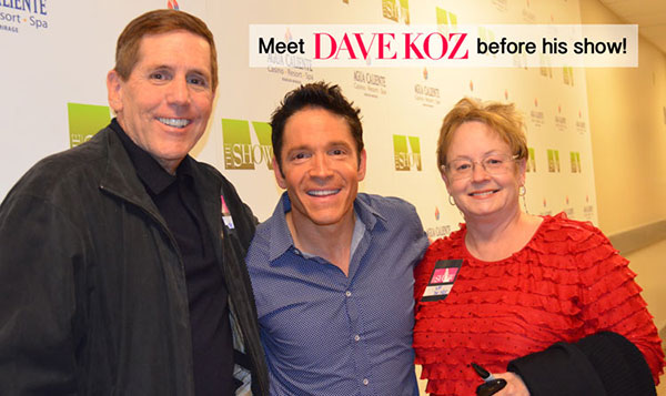 Meet Dave Koz before his show!