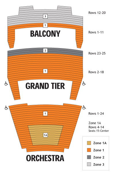 Celtic Woman Seating Chart Miller Auditorium
